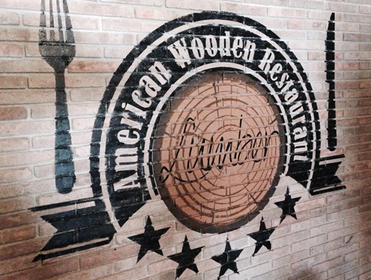 Logotip del restaurant Lumber de Mataró