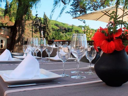 Terrassa del restaurant Papageno by Nomad de Cabrera de Mar