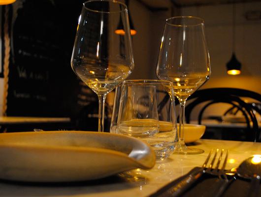 Interior del restaurant Apta de Vilassar de Dalt