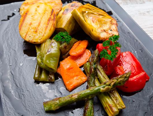 Un plat vegetarià del NotOnly Take Away de Mataró