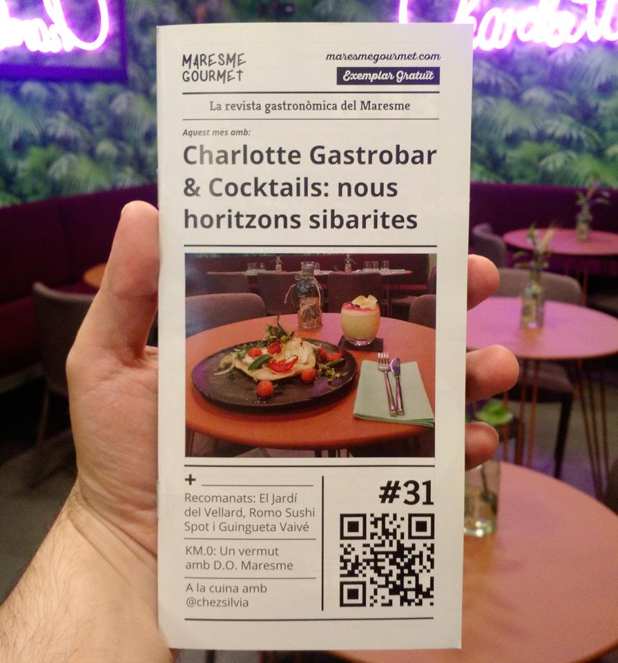 Portada revista 31 de Maresme Gourmet