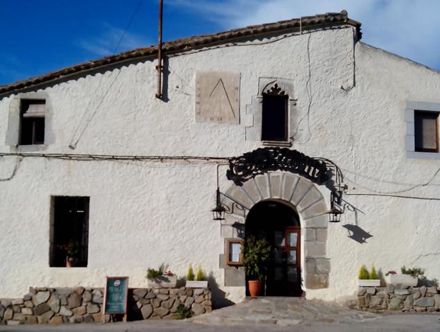 Exterior del restaurant Can Raimí a Argentona