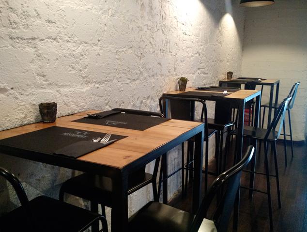 Interior del Restaurant DOS Cuiners de Mataró