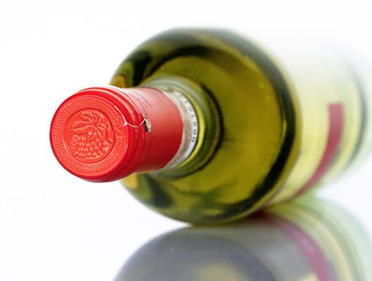 una ampolla de vi
