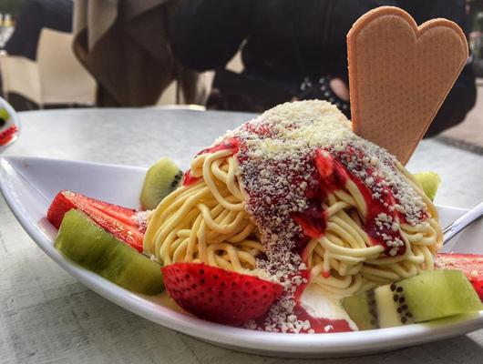 Gelat d'Espaguetis i Formatge