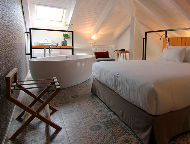 Una suite de l'Hotel Arrey d'Alella