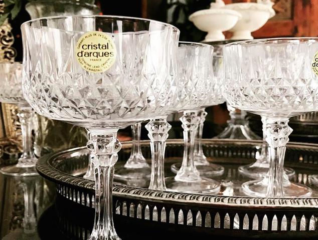 Copes de la marca parisina Cristal Arques