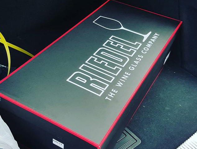 Copes de vi de la marca Riedel