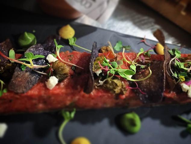 Steak Tàrtar de la Marineta de Mataró