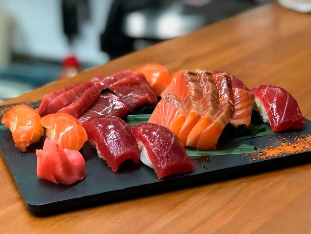 Un plat del restaurant Romo Taverna Japonesa de Mataró