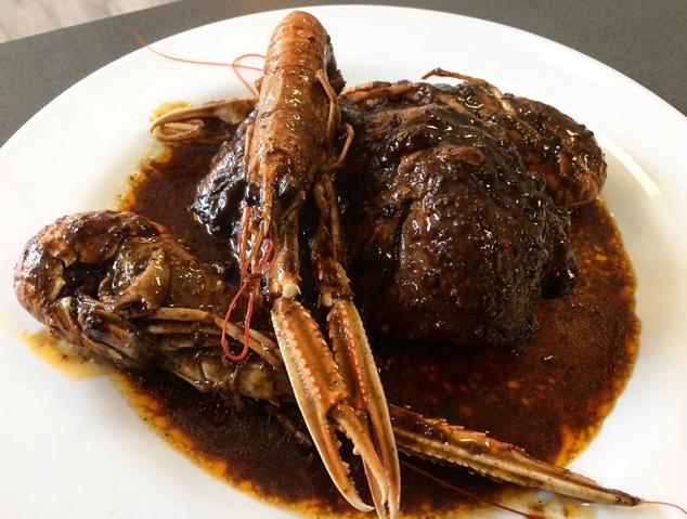 Mar i muntanya del restaurant Som Terra de Mataró
