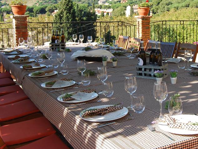 Un picnic entre vinyes al celler Bouquet d'Alella