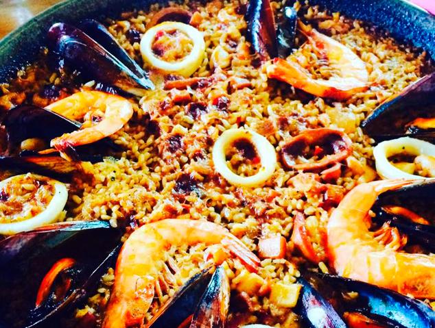 Paella de peix – El Racó de Can Feliu (Vilassar de Dalt)