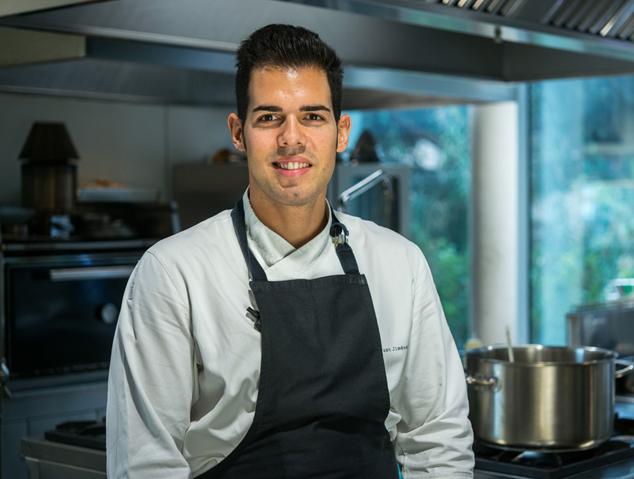 Juan Jiménez el cuiner del Sorli Emocions