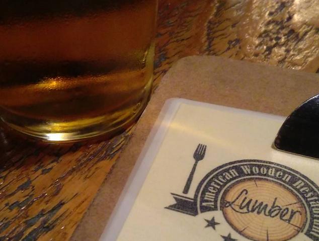 Carta del restaurant Lumber de Mataró