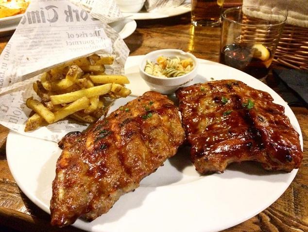 Un plat del restaurant Lumber de Mataró