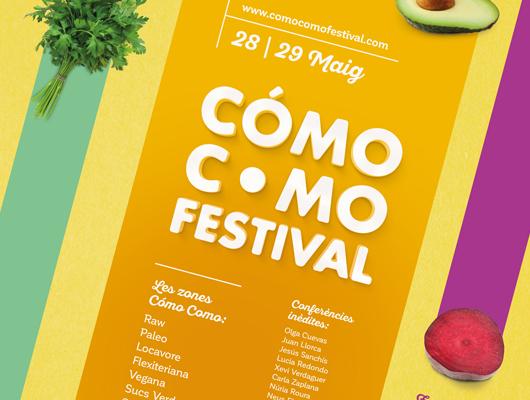 Cartell promocional del festival Cómo Como