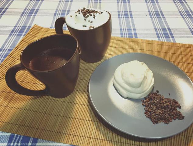 Xocolata en pols del Nïbs taller de xocolata
