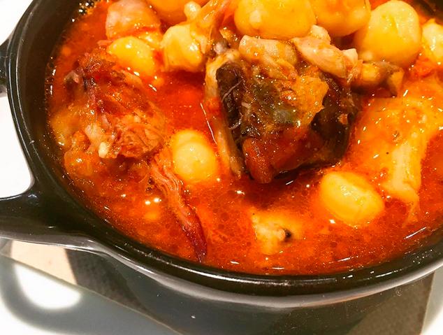 Un plat de cullera de la DO Tastets d'Alella
