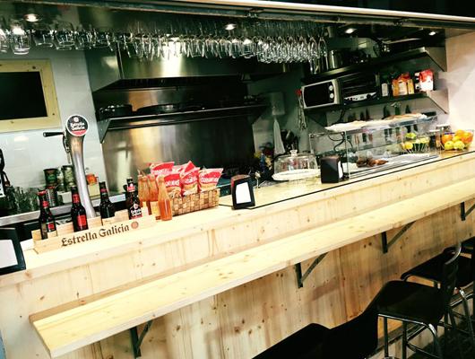 La barra gastronòmica de la DO Tastets d'Alella
