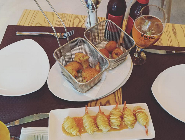 Unes tapes del restaurant Sorli Emocions de Vilassar de Dalt