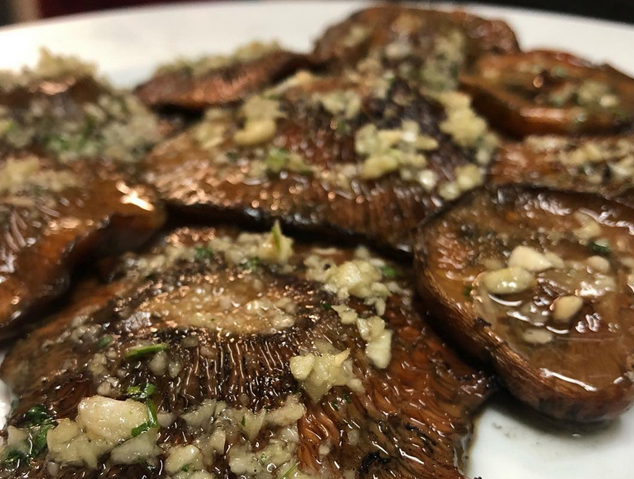 Un plat de rovellons del restaurant Xeflis de Cabrils