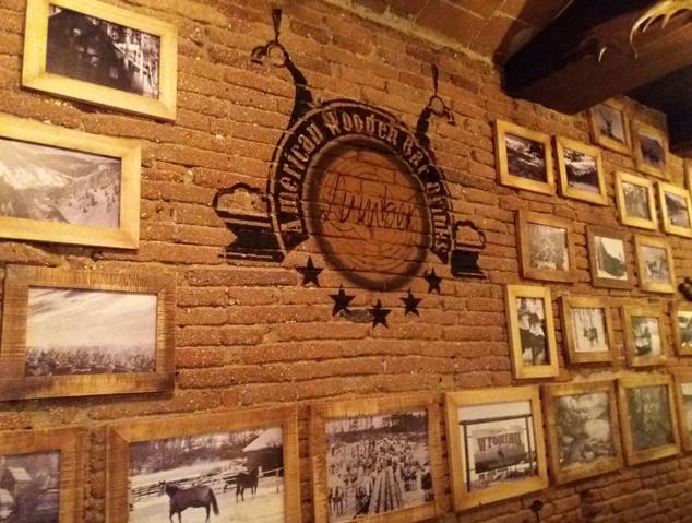 Interior del Lumber Bar