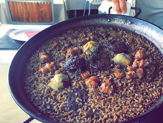 Un arròs del restaurant Saloma del Masnou