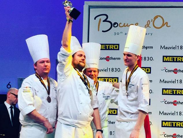 Els guanyadors del Premi Bocusse d'Or