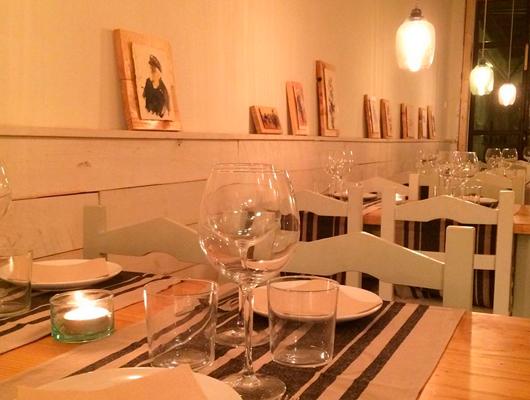 Interior del restaurant Natural de Vilassar de Mar