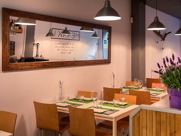 Interior del restaurant Meraki17 de Mataró