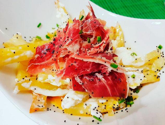 Uns ous estrellats del restaurant Meraki17 de Mataró