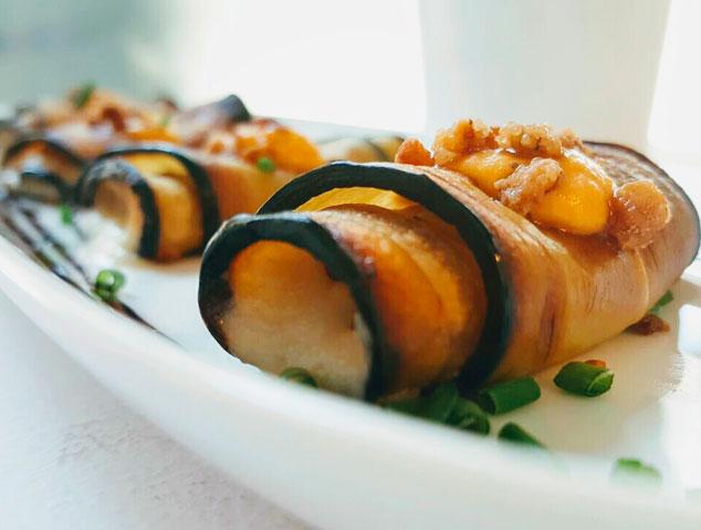 Un plat vegetarià del restaurant Meraki17 de Mataró