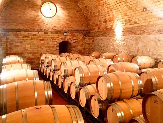 Interior de les Bodegues Vega Sicilia