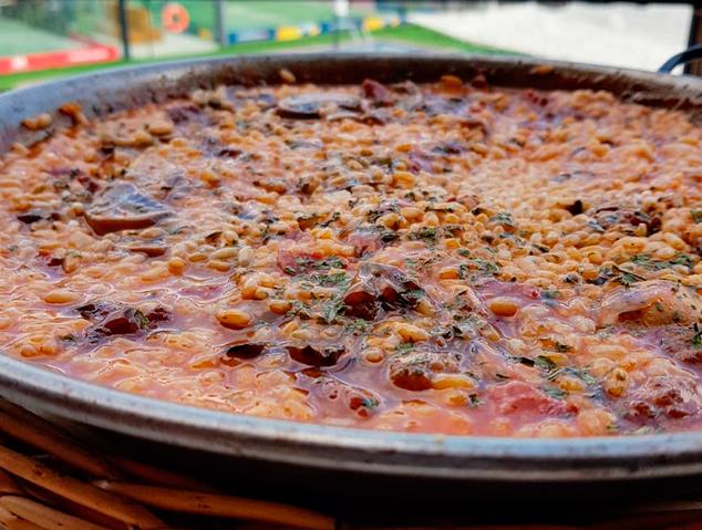 Un arròs del restaurant Ambients de Vilassar de Dalt