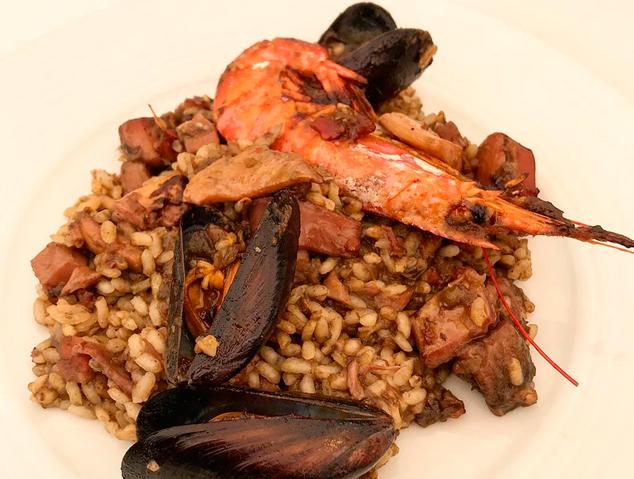 Arròs de peix i closca  - Can Rin (Cabrils)