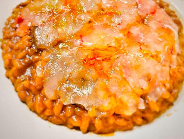 Arròs del restaurant Allium de Mataró