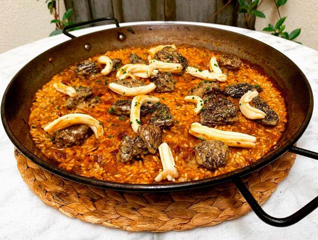 Paella del restaurant Blau de Mar