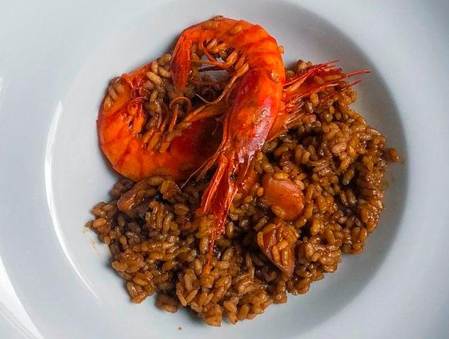 Paella del restaurant Eume d'Arrels Senzilles de Mataró