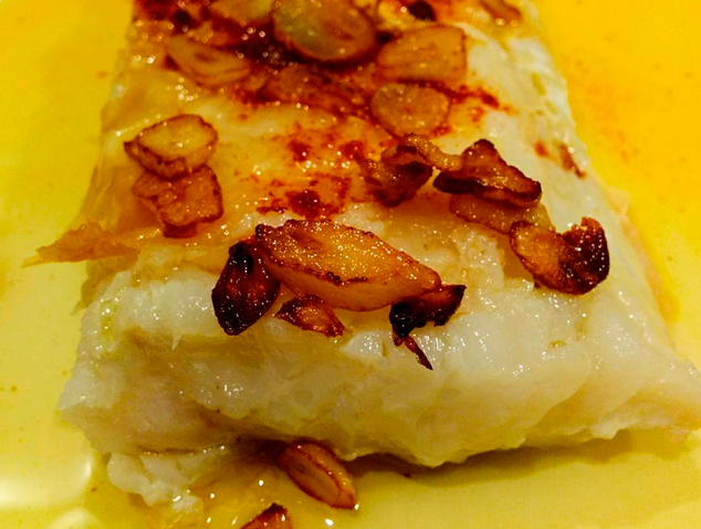 Un plat de Bacallà de La Júlia de Masnou