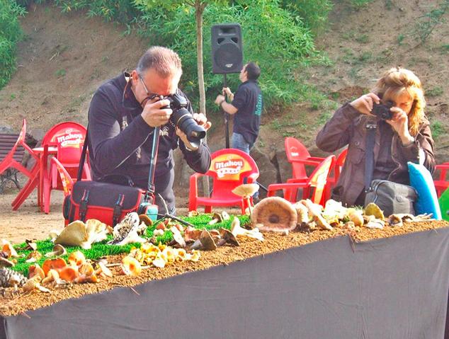 Imatge de la festa del bolet de Vilassar de Dalt