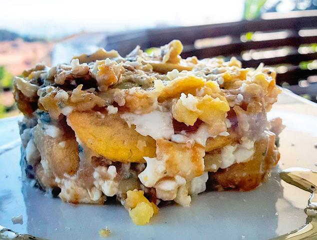 Un plat del restaurant Papageno by Nomad de Cabrera de Mar