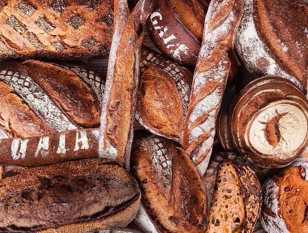 Pans artesanals del forn de pa Eliasboulanger