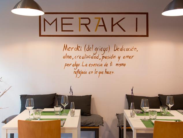 Interior del restaurant Meraki17