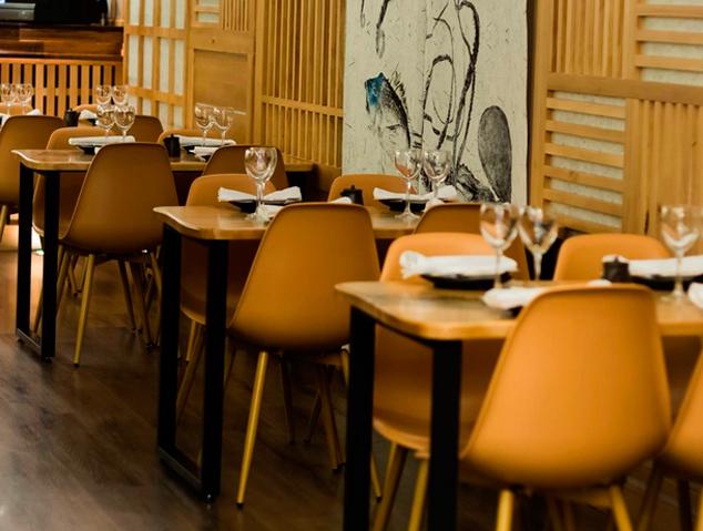 Interior del restaurant Sésam Negre