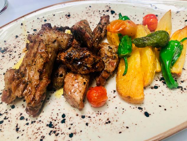 Un dels plats del menñu de cap de setmana del restaurant Sant Jaume de Premià de Dalt