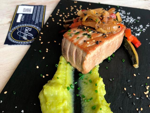 Tonyina Balfegó del restaurant Dynamic Hotel de Caldes d'Estrac