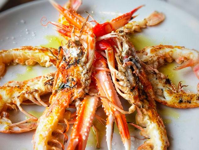 Un dels plats del menú cap de setmana a la Bodega del Port al Masnou