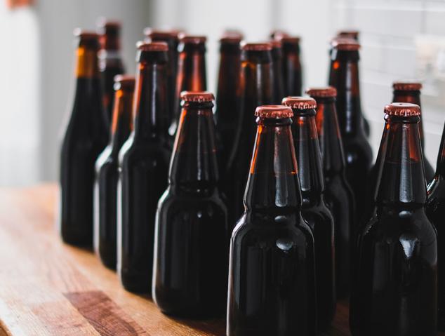 Ampolles de cervesa artesana