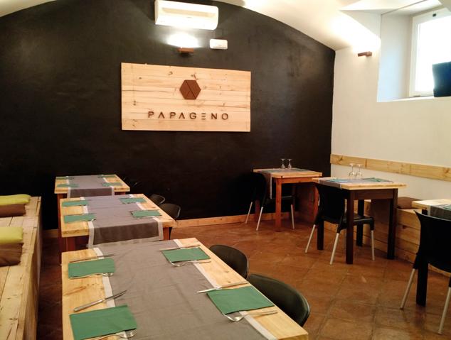 Menjador interior del restaurant Papageno by Nomad de Cabrera de Mar